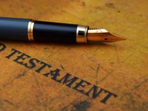 La importancia de tener un testamento